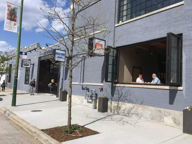 Image of Burnt City Brewing in the District Brew Yards Brew